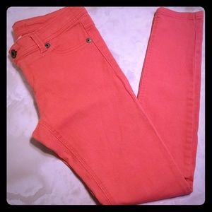 Wet Seal Coral jeans